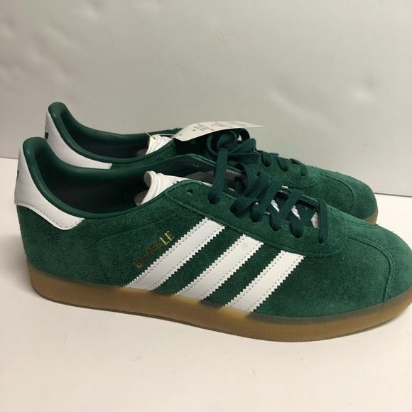Adidas Gazelle Mens Shoes Collegiate Green Gum
